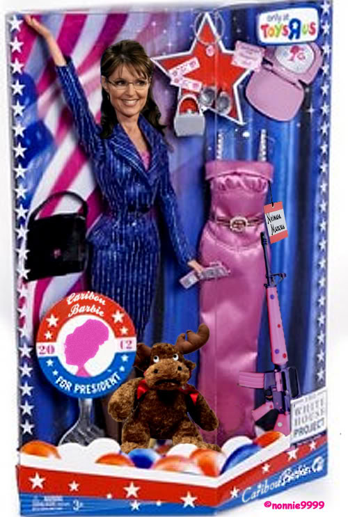 sarahpalinpresidentbarbie