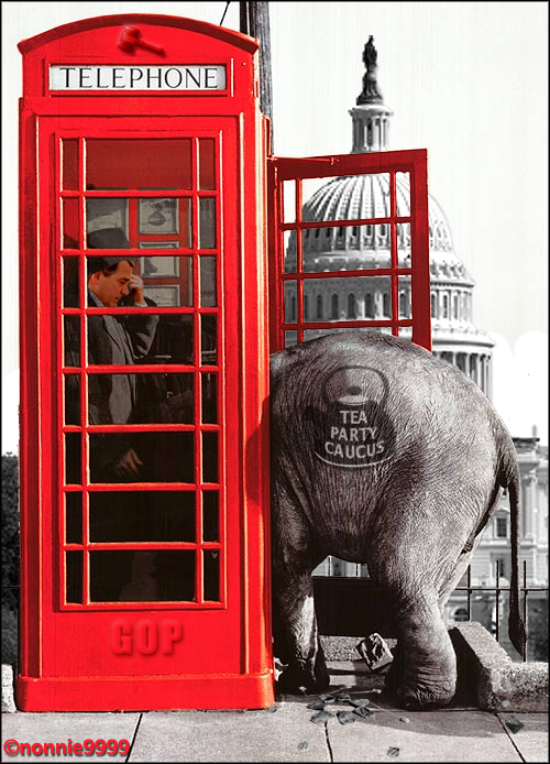 johnboehnerphoneboothelephant