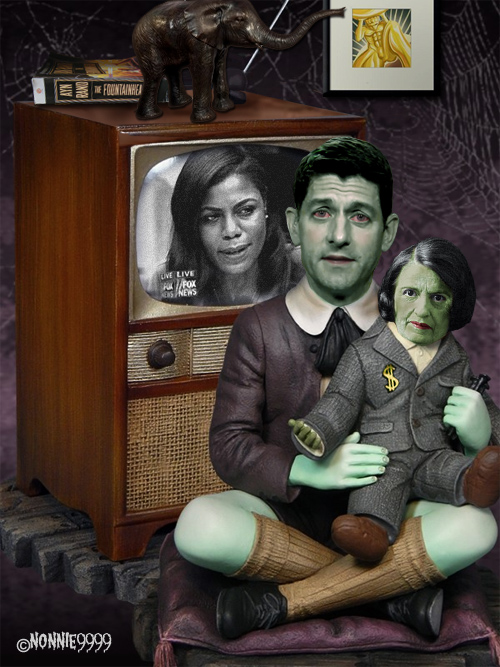 the munsters eddie paul ryan omarosa ayn rand
