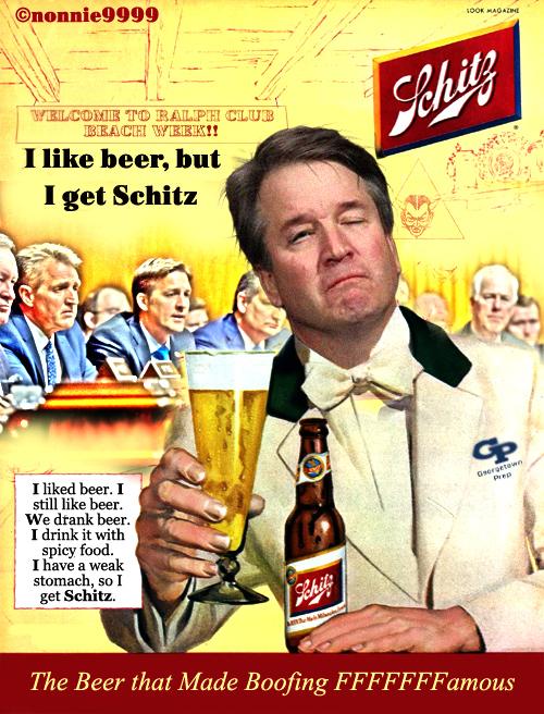 schlitz beer brett kavanaugh