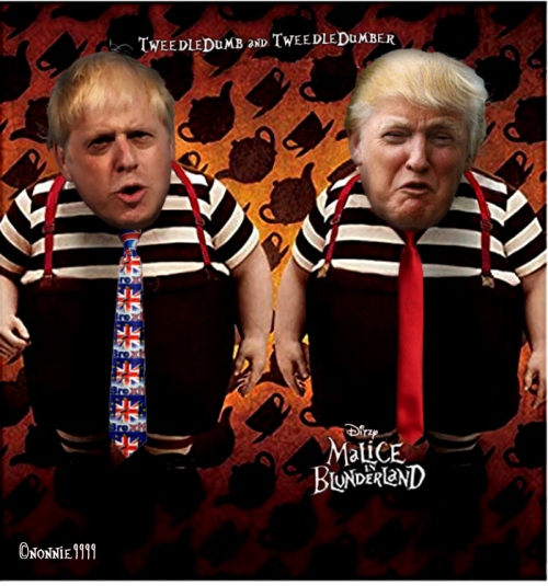 TWEEDELDUM AND TWEEDLEDEE