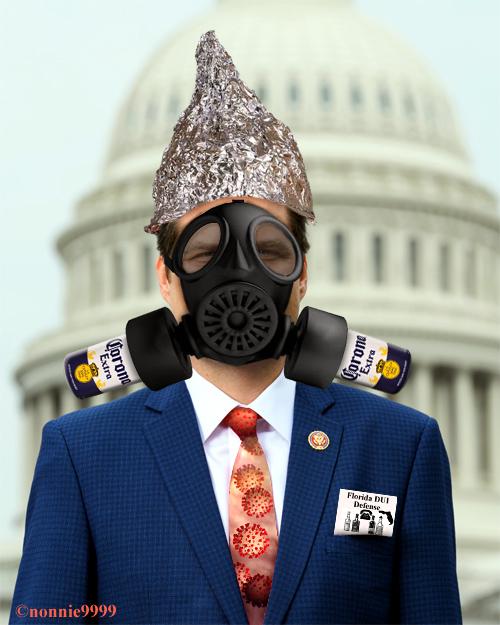 matt gaetz gasmask